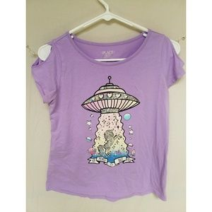 Children's Place Size XXL Sleeveless Graphic Shirt